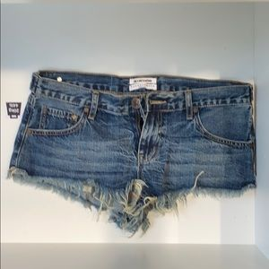 One Teaspoon Shorts - Very low small one teaspoon shorts